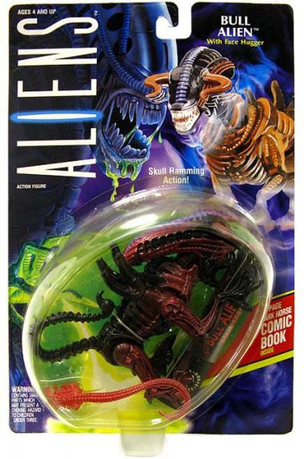 Aliens Bull Alien Action FIgure [With Face Hugger]