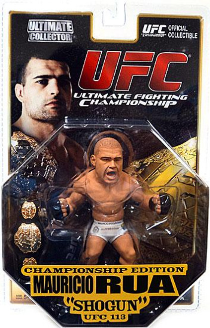 UFC Ultimate Collector Series 5 Mauricio Rua Action Figure [Championship Edition]