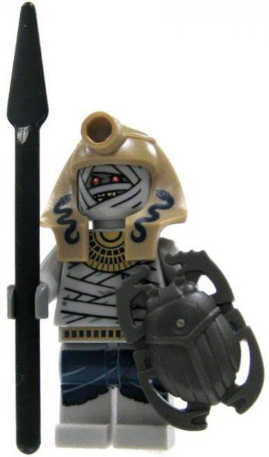 LEGO Pharaoh's Quest Loose Serpent Mummy Warrior Minifigure #1 [With Spear Loose]