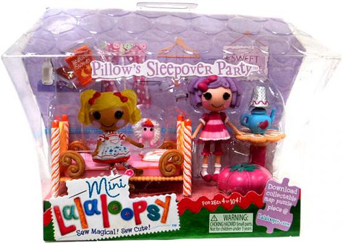 Lalaloopsy Pillow's Sleepover Party Mini Figure Playset