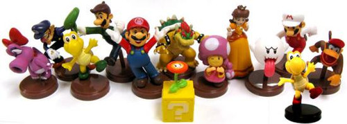Super Mario Bros Wii Series 2 Set of 13 2-Inch PVC Figures