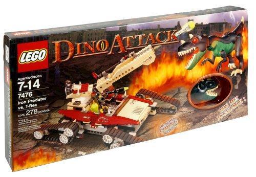 LEGO Dino Attack Iron Predator vs. T-Rex Set #7476 [Damaged Package]