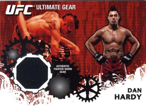 UFC 2010 Championship Ultimate Gear Relic Dan Hardy UG-DH