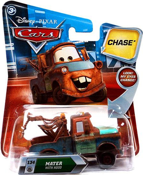 Disney Cars Lenticular Eyes Series 2 Mater with Hood Diecast Car