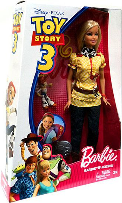 Toy Story 3 Barbie Loves Jessie Doll