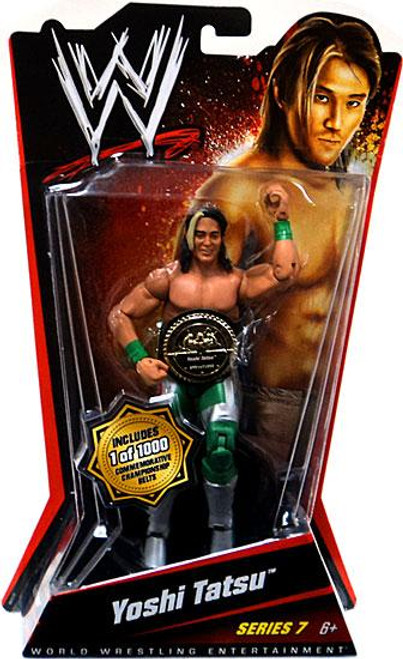 WWE Wrestling Series 7 Yoshi Tatsu Action Figure [With Belt]