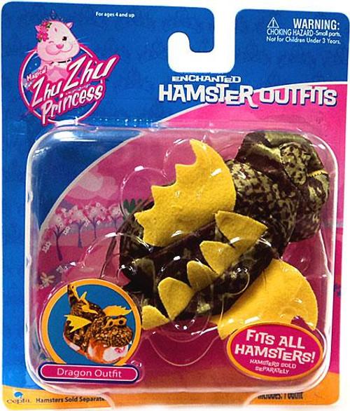 Zhu Zhu Pets Princess Enchanted Hamster Outfits Dragon Accessory Set