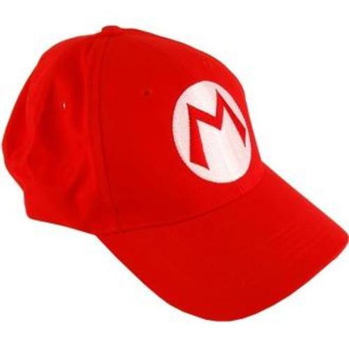 Super Mario Mario Baseball Cap
