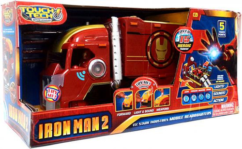 Iron Man 2 Touch Tech Stark Industries Mobile Headquarters