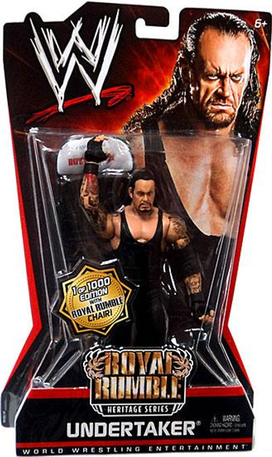 WWE Wrestling Pay Per View Series 6 Royal Rumble Heritage Undertaker Action Figure [With Chair]