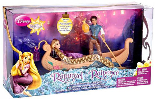 Disney Tangled Rapunzel's Boat Ride Playset