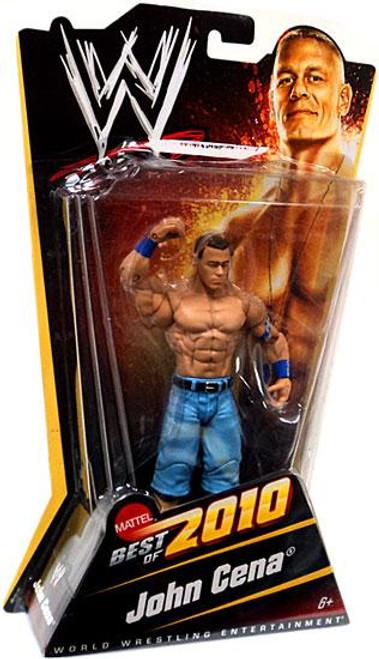 WWE Wrestling Best of 2010 John Cena Action Figure