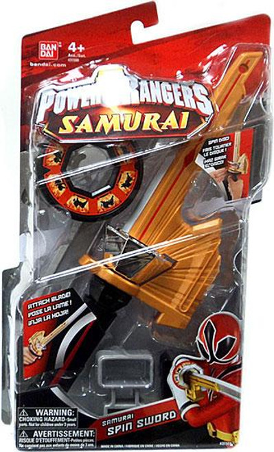 Power Rangers Samurai Spin Sword Roleplay Toy
