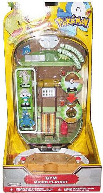Pokemon Deluxe Micro Gym Playset