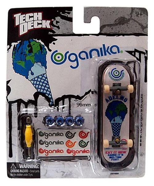 Tech Deck Organika 96mm Mini Skateboard [White]