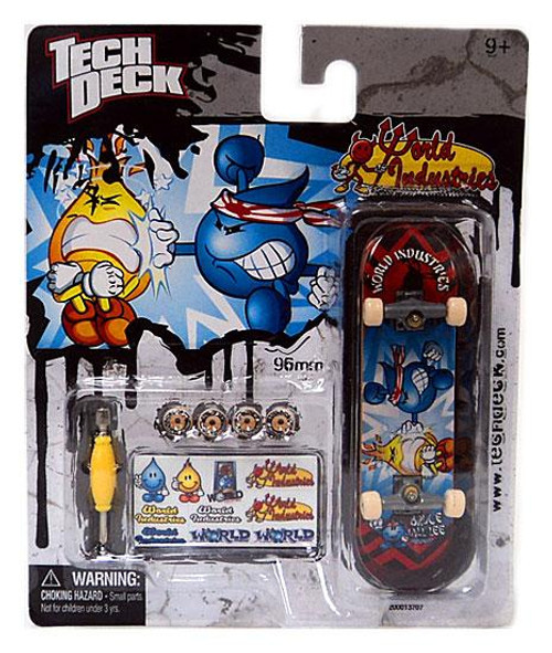 Tech Deck World Industries 96mm Mini Skateboard [Bruce Will-Lee]