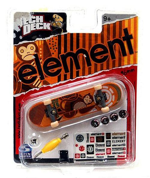 Tech Deck Element 96mm Mini Skateboard [Orange]