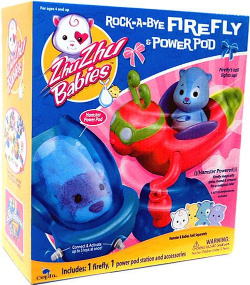 Zhu Zhu Pets Babies Rock-A-Bye Firefly & Power Pod Playset