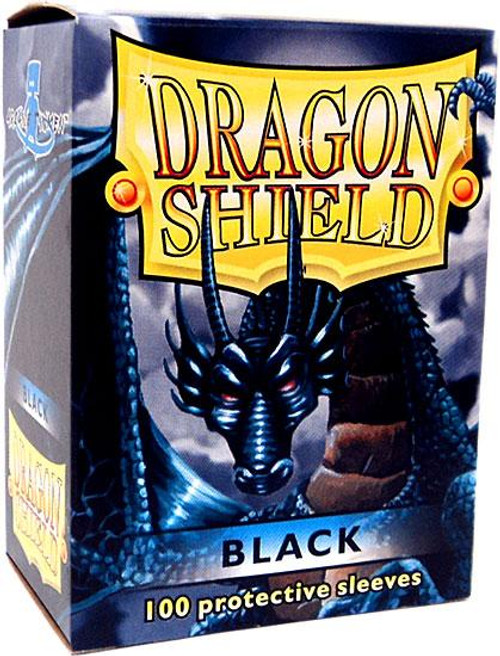 Card Supplies Dragon Shield Black Standard Card Sleeves [100 ct]