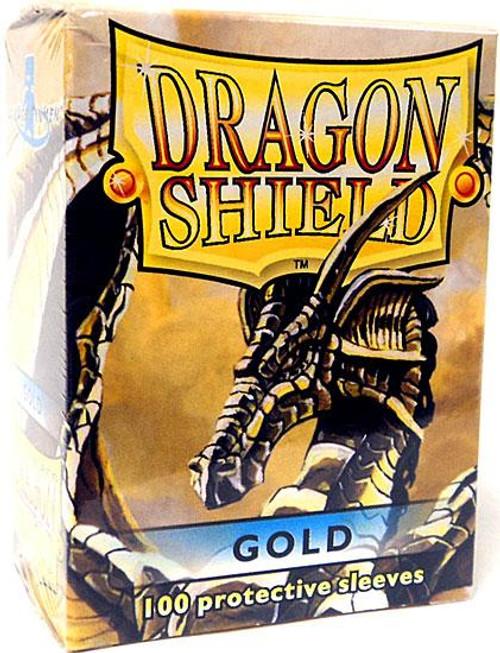 Card Supplies Dragon Shield Gold Standard Card Sleeves [100 ct]