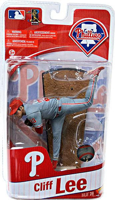 McFarlane Toys MLB Philadelphia Phillies Sports Picks Series 28 Extended Cliff Lee Action Figure