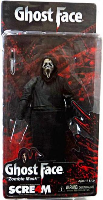 NECA Scream 4 Cult Classics Ghost Face Action Figure [Zombie Mask]