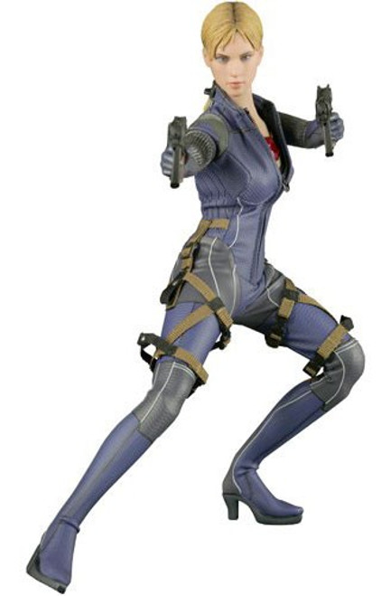 Resident Evil 5 Video Game Masterpiece Jill Valentine 1/6 Collectible Figure [Battle Suit Version]