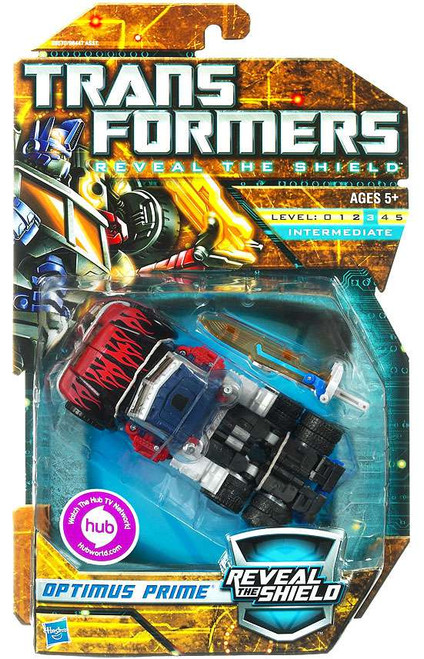 Transformers Reveal the Shield Hunt for the Decepticons Optimus Prime Deluxe Action Figure [Generation 2]