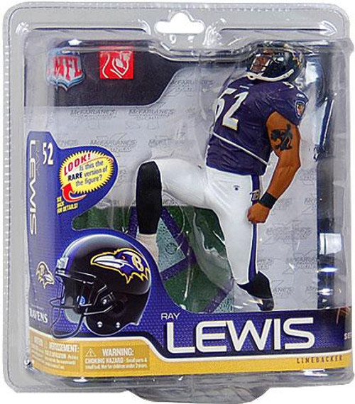 McFarlane Toys NFL Baltimore Ravens Sports Picks Series 26 Ray Lewis Action Figure [Purple Jersey]