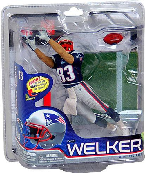 McFarlane Toys NFL New England Patriots Sports Picks Series 26 Wes Welker Action Figure [Blue Jersey]