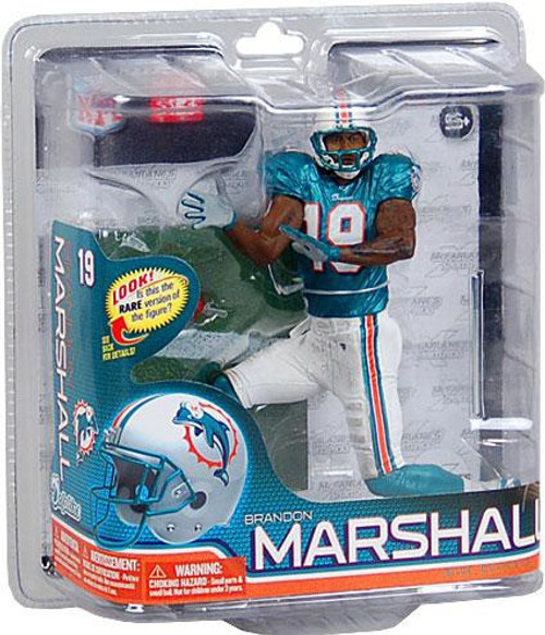 McFarlane Toys NFL Miami Dolphins Sports Picks Series 26 Brandon Marshall Action Figure [Green Jersey]