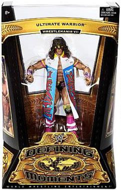 WWE Wrestling Defining Moments Series 2 Ultimate Warrior Action Figure