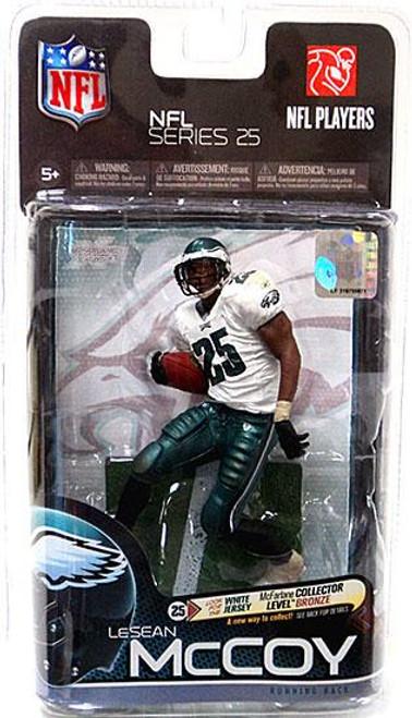 McFarlane Toys NFL Philadelphia Eagles Sports Picks Series 25 LeSean McCoy Action Figure [White Jersey]