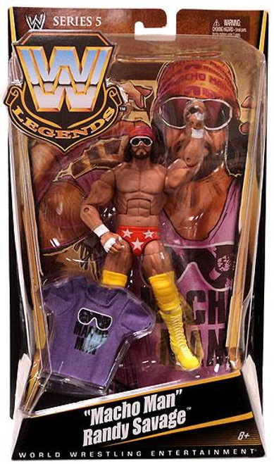 WWE Wrestling Legends Series 5 Macho Man Randy Savage Action Figure