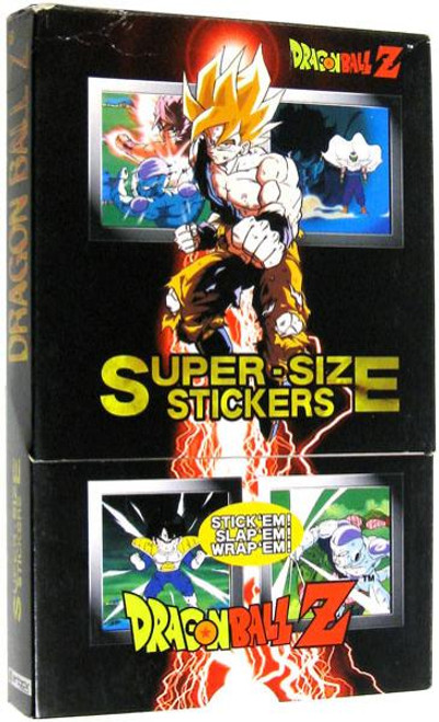 Dragon Ball Z Super-Size Sticker Box