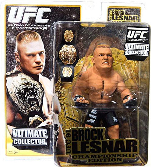 UFC Ultimate Collector Series 4 Brock Lesnar Action Figure [Championship Edition]