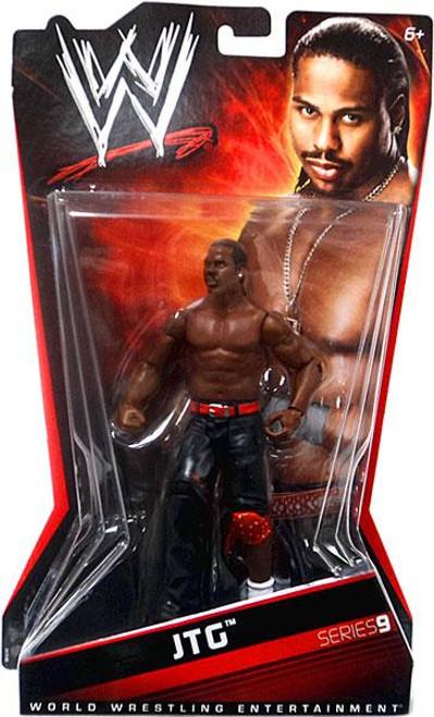 WWE Wrestling Series 9 JTG Action Figure