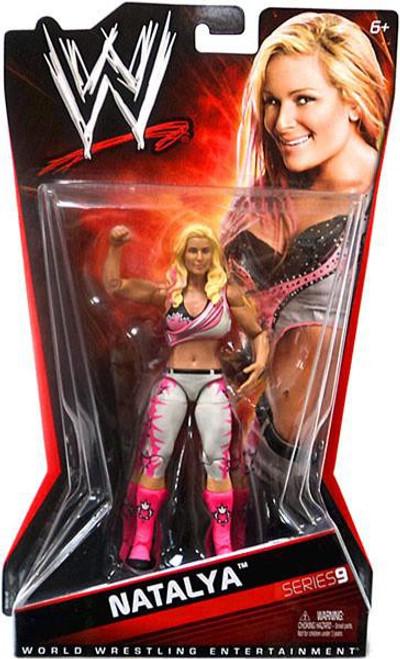 WWE Wrestling Series 9 Natalya Action Figure