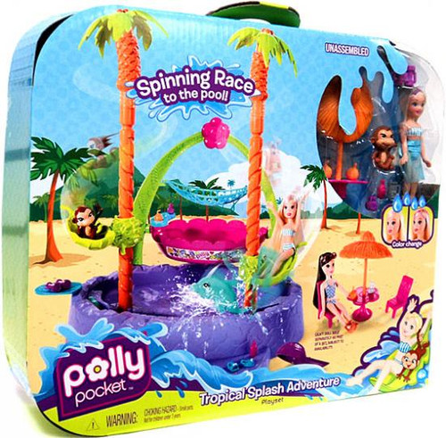 Polly Pocket Tropical Splash Adventure Playset