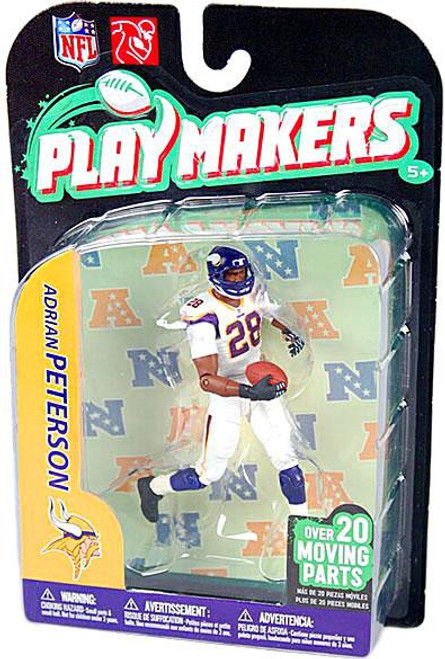 McFarlane Toys NFL Minnesota Vikings Playmakers Series 2 Adrian Peterson Action Figure