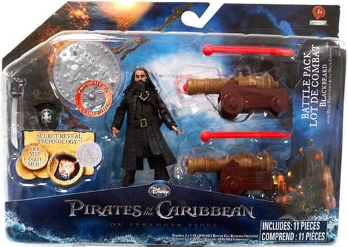 Pirates of the Caribbean On Stranger Tides Battle Pack Blackbeard Action Figure Pack