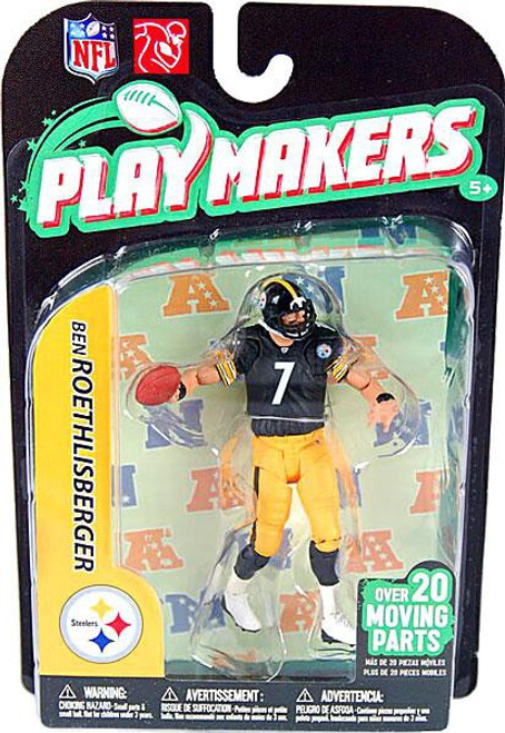 McFarlane Toys NFL Pittsburgh Steelers Playmakers Series 2 Ben Roethlisberger Action Figure
