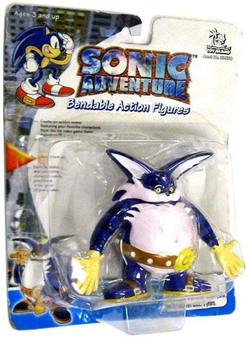 Sonic The Hedgehog Sonic Adventure Big the Cat 3-Inch Bendable Figure