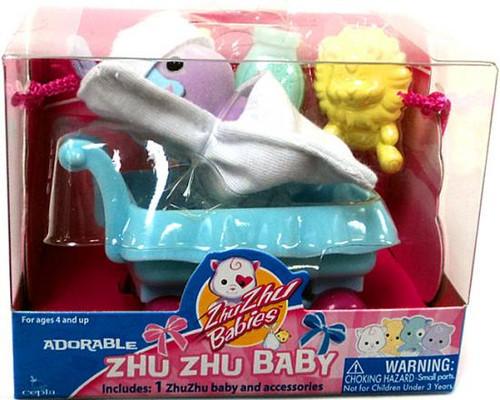 Zhu Zhu Pets Babies Hutch Zhu Zhu Baby [Purple]