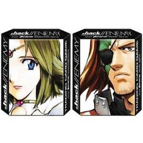 Dot .Hack/Enemy Trading Card Game Distortion Terajima Ryoko & Sanjuro Starter Theme Decks