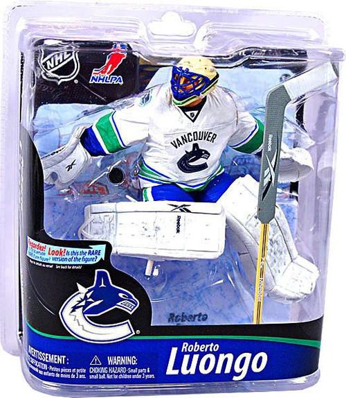 McFarlane Toys NHL Vancouver Canucks Sports Picks Series 28 Roberto Luongo Action Figure [White Jersey]