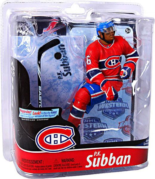 McFarlane Toys NHL Montreal Canadiens Sports Picks Series 28 P.K. Subban Action Figure [Red Jersey]