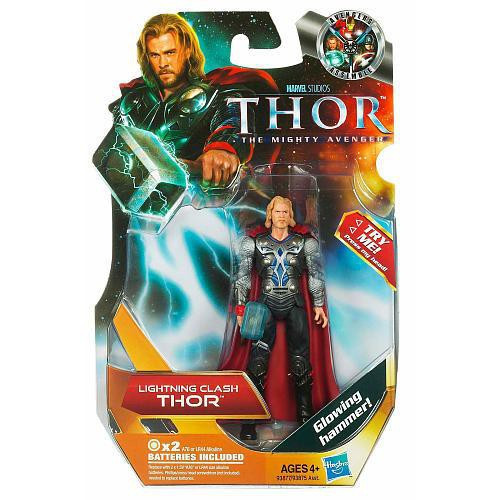 The Mighty Avenger Thor Action Figure #3 [Lightning Clash]