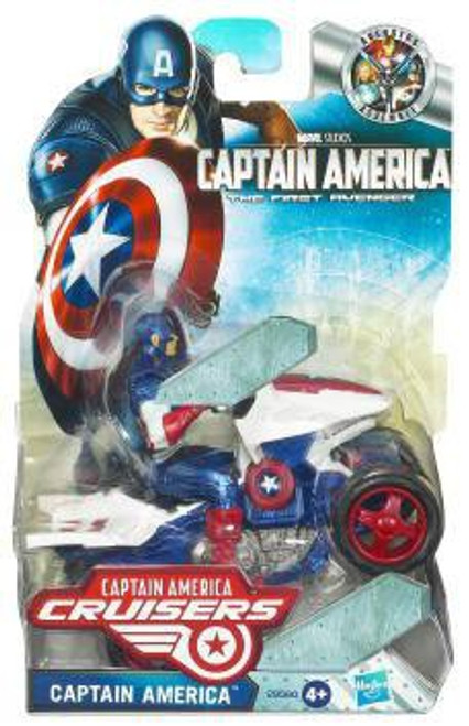 The First Avenger Captain America Crusiers Zoom N Go ATV