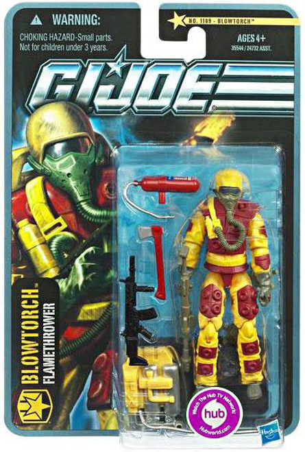 GI Joe Pursuit of Cobra Blowtorch Action Figure